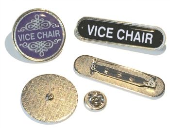 VICE CHAIR badge